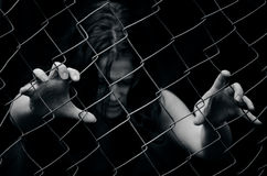 Handelnder Mensch - Konzept-Foto Lizenzfreies Stockbild