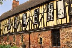 Handels- lycksökarens Hall - 1357, York, England Arkivfoton