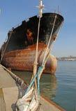 Handels  Seehafen Lizenzfreie Stockbilder