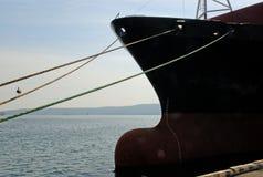 Handels  Seehafen Stockfotografie