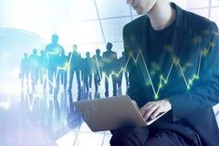 Handels- und Sitzungskonzept lizenzfreie stockfotografie