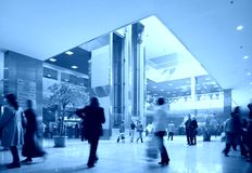Handelscentrum Stock Afbeeldingen