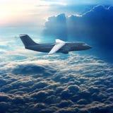 Handelsflugzeug stockbild