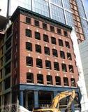 Handelsgebäude im Bau Stockfotografie
