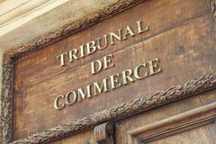 Handelsgericht von Aix en Provence Stockfotografie