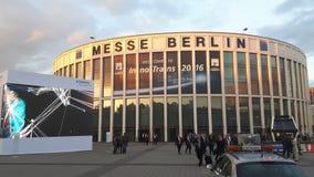Handelshow, Innotrans i Berlin, Tyskland Arkivfoto