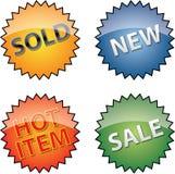 Handelskennsätze Lizenzfreie Stockfotos
