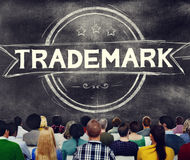 Handelsmerk het Brandmerken Reclamecopyright Concept Stock Afbeeldingen
