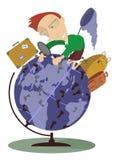 handelsresande royaltyfri illustrationer