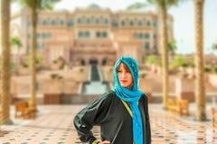 Handelsresande i emirater Royaltyfri Fotografi