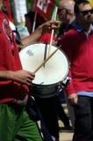 Handelsresande i 1st den Maj demonstrationen 18 Royaltyfri Foto