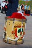 Handelsresande och trumpetare av Oristano Fotografering för Bildbyråer