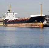 Handelsschiff lizenzfreie stockfotos