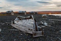 Handelsstation ein Litke auf Novaya Zemlya Lizenzfreie Stockfotografie