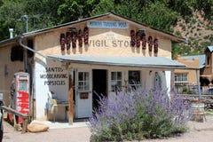 Handelsstation EL Potrero, New Mexiko Stockfotos