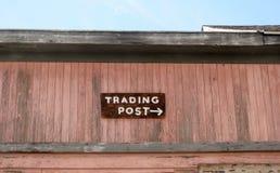 Handelsstationszeichen Lizenzfreie Stockbilder