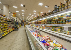 Handelsstelle des Supermarktes Lizenzfreies Stockbild