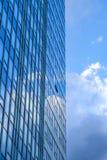 Handelsteil einer europäischen Stadt Lizenzfreie Stockfotos