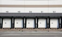Handelsverladedock Stockbilder