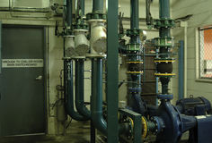 Handelswasserkühler Stockbild