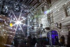 """16. Handelszentrum 2018 € Zagrebs, Kroatien """"Festival des Lichtes in Zagreb lizenzfreies stockbild"""