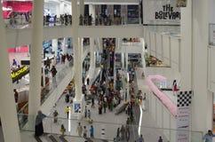 Handelszentrum-Mall, Lahore, Pakistan Stockbilder