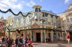 Handelszentrum-Speicher im magischen Königreich, Disney Stockbild