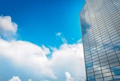 Handeltorn för WTC Seoul och Coex regel- & utställningmitt på Arkivfoton