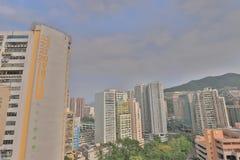 handelzaken, industriezone in Chai Wan royalty-vrije stock afbeelding