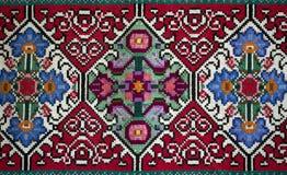 Handemade Slavisch tapijt Royalty-vrije Stock Afbeeldingen