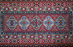 Handemade Slavisch tapijt Stock Foto's