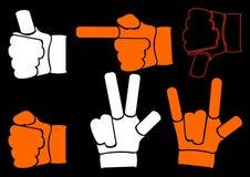 Handen. Stock Foto's