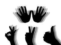 Handen stock illustratie