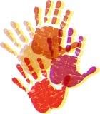 handen royalty-vrije illustratie