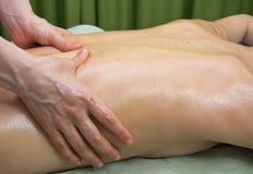 De massage van handen Royalty-vrije Stock Foto's