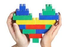 Handen die hart houden Royalty-vrije Stock Fotografie