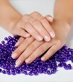 Handen en juwelen Royalty-vrije Stock Foto