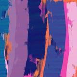 Handen målade yttersidabakgrund Grov färgpennaeffekt royaltyfri illustrationer