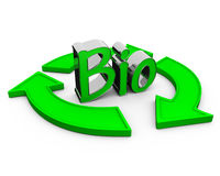 Word bio stock illustratie