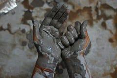 Handen van artisanaal - 11 royalty-vrije stock afbeelding