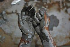Handen van artisanaal - 9 royalty-vrije stock afbeeldingen