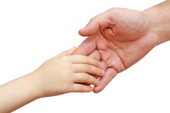 Handen van de baby Stock Afbeelding