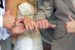 Handen van de bruid Royalty-vrije Stock Afbeelding