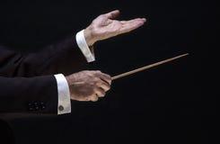 Handen van de directeur Stock Foto's