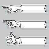 Handen van de mens Stock Foto's