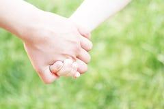 Handen van kind Stock Afbeeldingen