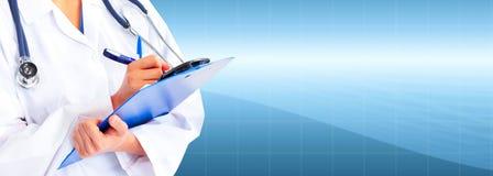 Handen van medische arts. Royalty-vrije Stock Afbeeldingen