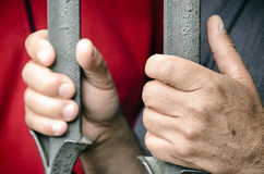 Handen van protest Stock Fotografie