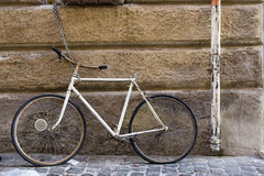 Handen weg van mijn fiets Royalty-vrije Stock Fotografie