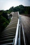 Handerson-Wellen-Brücke Singapur Stockbilder